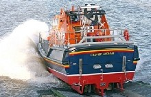 The Cromer RNLI Lifeboat